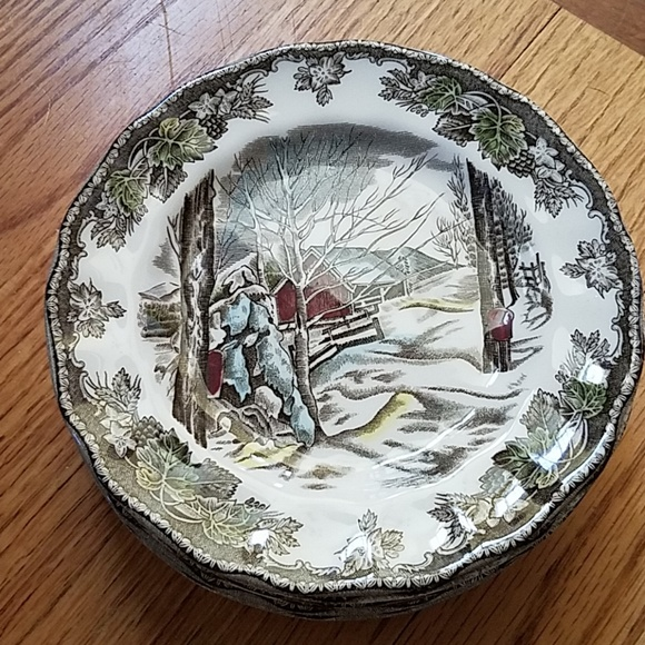 johnson brothers Other - Johnson Brothers Set 8 The Friendly Village Plates